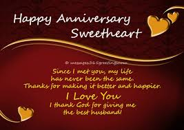 Anniversary Quotes For Husband Beauteous Anniversary Wishes For Husband 48greetings