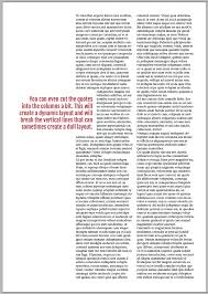 How To Quote An Article Magnificent Pullquotes In Magazine Design Magazine Designing