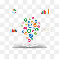 vector book and learning icon book data graph learning icon png and vector