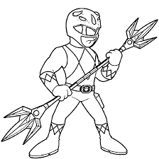 Power Rangers Coloring Pages Wecoloringpage