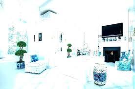 oriental garden stool blue stools and white asian b