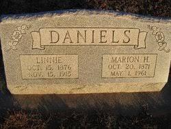 """Veelana (Verlena) """"Linnie"""" Brannon Daniels (1876-1915) - Find A ..."""