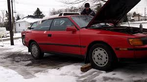 Seafoam - 1989 Toyota Celica GTS - Smoke show! - YouTube