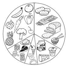 Small Picture Luxurious And Splendid Healthy Foods Coloring Pages List Healthy