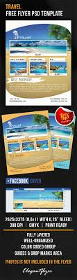 Travel Free Flyer Psd Template