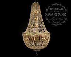 swarovski chandelier for al of hire