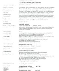 resume job responsibilities examples assistant manager resume assistant manager resume retail jobs job