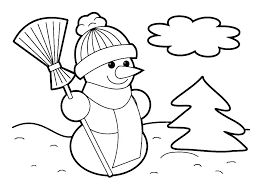 Christmas Coloring Pages For Toddlers Free Coloring Pages For