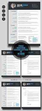 Best Resume Templates 2017 Word 24 Free CV Resume Templates 2417 Freebies Graphic Design Junction 10