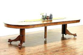 oak table with leaf round dining table with leaves round dining table for 6 with leaf