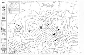 Synoptic Chart Synoptic Weather Chart For South Africa From Sa Weather Service