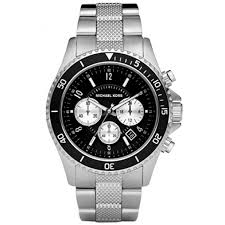michael kors madison black women s mk8174 steel watch michael kors men s casual classic chronograph black dial watch mk8174