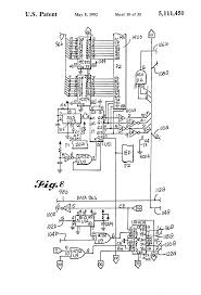 patent us5111450 data bus tester for autonomous data patent drawing