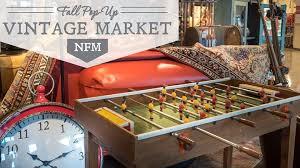Pop Up Vintage Market NFM Texas Nebraska Furniture Mart The
