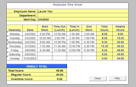 How To Use Excel As A Timesheet 60 Sample Timesheet Templates Pdf Doc Excel Free