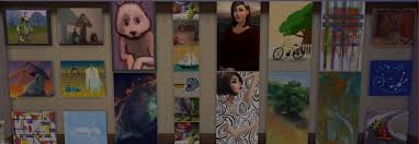 the sims 4 painting a lot of diffe paintings from the game
