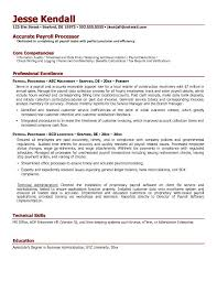Payroll Clerk Resume
