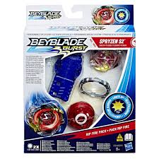 Beyblade Light Up Launcher Beyblade Burst Rip Fire Starter Pack 30 00 Hamleys For