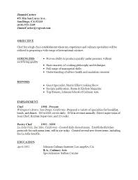 9 Best Best Hospitality Resume Templates & Samples Images On  intended for Culinary