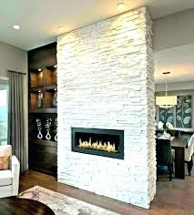 faux stacked stone fireplace fake oliver james lieb ebony and gray stacked faux stone electric fireplace