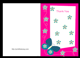 Free Online Thank You Card Butterfly Baby Shower Thank You Cards Free Printable Travel Shower Caddy