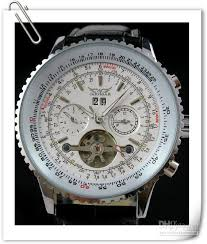 jaragar big men leather watch mechanical tourbillion dive day hello friend white dial and black dial please choose you want the model otherwise we`ll send them default model thanks