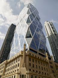cool architecture buildings. Interesting Cool NYC Building Hearst A Traditional Stone Building With Angled Glass Triangle  Shapes To Form Tower Throughout Cool Architecture Buildings