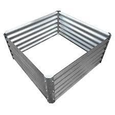 galvanized corrugated garden bed 40 x