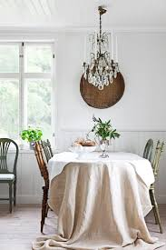 another pinner said :I've been using a starched canvas drop cloth as a table  cloth since Thanksgiving. like a classic pair of khakis!