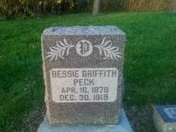 Bessie Griffith Peck (1878-1919) - Find A Grave Memorial