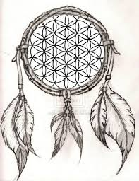 Chippewa Dream Catchers Fascinating Flower Of LifeDreamcatcher Design I Thought Up And Might Get What