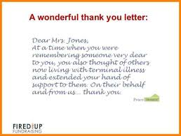 how to write a killer thank you letter 40 638