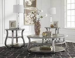 Typically coffee table sets consist of a coffee table and two end tables or a side table and sofa table. Ashley Furniture Coralayne 3pc Coffee Table Set The Classy Home