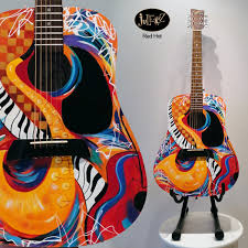 custom designed taylor guitar by juleez