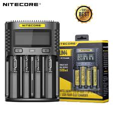 <b>100</b>% <b>Original Nitecore</b> UM4 USB QC Battery Charger Intelligent ...