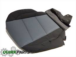 2005 2007 nissan titan drivers front seat bottom cushion cover oem 87370zh161