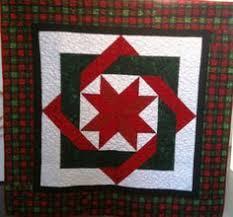 Prairie Flower Quilt Company's Christmas strip project (Quilt shop ... & Complicated Christmas Star Art Quilt Adamdwight.com