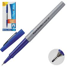 Линер -<b>ручка</b> 0,5 <b>PaperMate</b> Flair UF S0901331 синий картонная ...