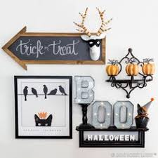 halloween gallery wall decor hallowen walljpg halloween decorations gallery wall take your halloween decor to the next level just add a bit of spooky charm to your everyday decor for a ghostly
