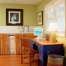 office curtain ideas. Home Office Curtain Ideas Eclectic With Midcentury Modern Molded Wood Chairs Czmcam.org L