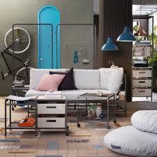 multifunction living room wall system furniture design. (Image Credit: IKEA) Multifunction Living Room Wall System Furniture Design