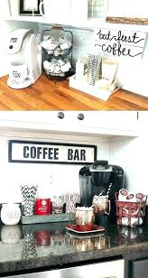 Coffee bar for office Counter Coffee Bar Ideas For Office Splendid Kitchen Surprising Decorating 10 Coffee Bar Ideas For Office Awe 25 Diy Your Home Stunning Pictures