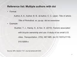 In Text Citation Journal Article Multiple Authors Essay Editing