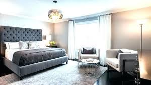 light gray headboard en bedroom ideas grey queen velvet tufted gray headboard blue