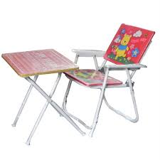 table chair for toddler. Buy Metroz Presents Heavy Duty Kids Folding Study Table And Chair Assorted Designs Colors At 50% Off In India - Kraftly April 2018 For Toddler D
