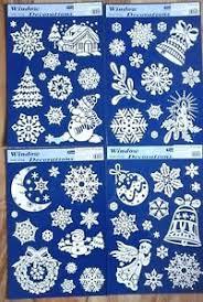 Details Zu Fensterbilder Weihnachten Schneeflocke Glocke Engel Mond Kerze Tanne Fensterdeko