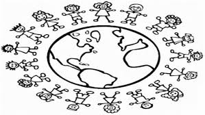 Small Picture Coloring Pages Children Around The World Coloring Page Its A