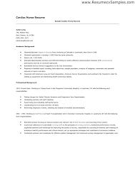 Critical Care Nurse Resume Example Nurse Resume Samples Registered