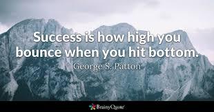 Rock Bottom Quotes Gorgeous Hit Quotes BrainyQuote