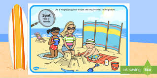 Games, stories and worksheets from twinkl. Phase 5 Ir Words Beach Scene Magnifying Glass Worksheet Worksheet